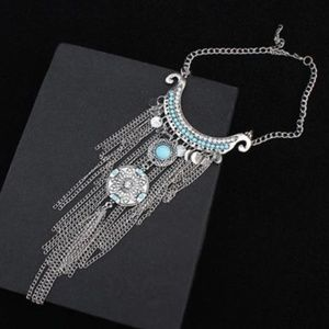 Buckle Jewelry - New! Women's Gypsy Ethnic Tasseled Necklace